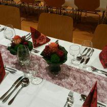 Tischdeko Diamantene Hochzeit