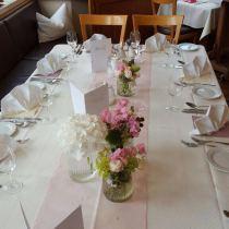 Tischschmuck Hochzeit